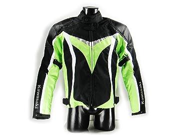Kawasaki Ninja textil Chaqueta.Moto Chaqueta. NUEVO. Talla L ...
