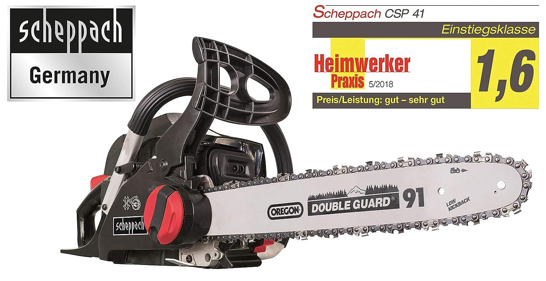 Scheppach 5910113903Tronçonneuse à essence
