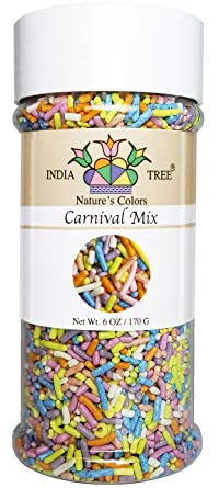 Carnival play sprinkle mix