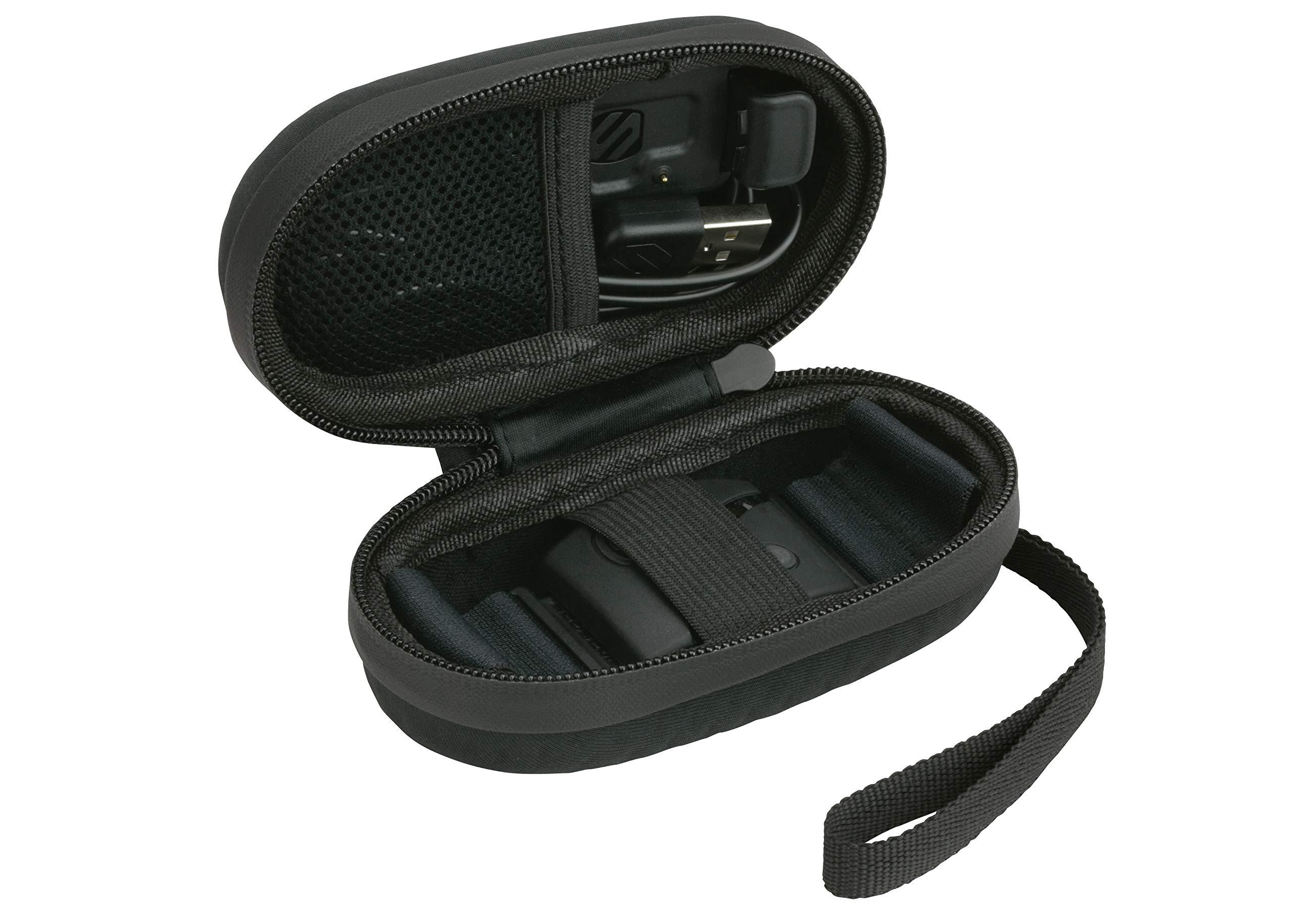 Scosche Rhythm Zipper Case | Hard Case for Rhythm+ and Rhythm 24 (Black) by Scosche (Image #1)