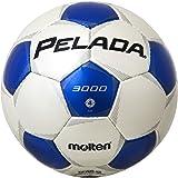 molten(モルテン) サッカーボール ペレーダ3000   4号 白×青 F4P3000-WB
