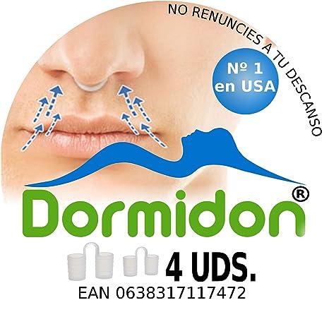 Dormidon® - Dilatador Nasal 4 unidades - 2 Tamaños Distintos - 2 ...