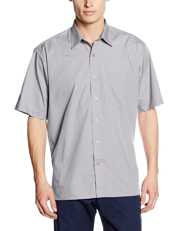 Premier Workwear Herren Poplin Short Sleeve Shirt Businesshemd