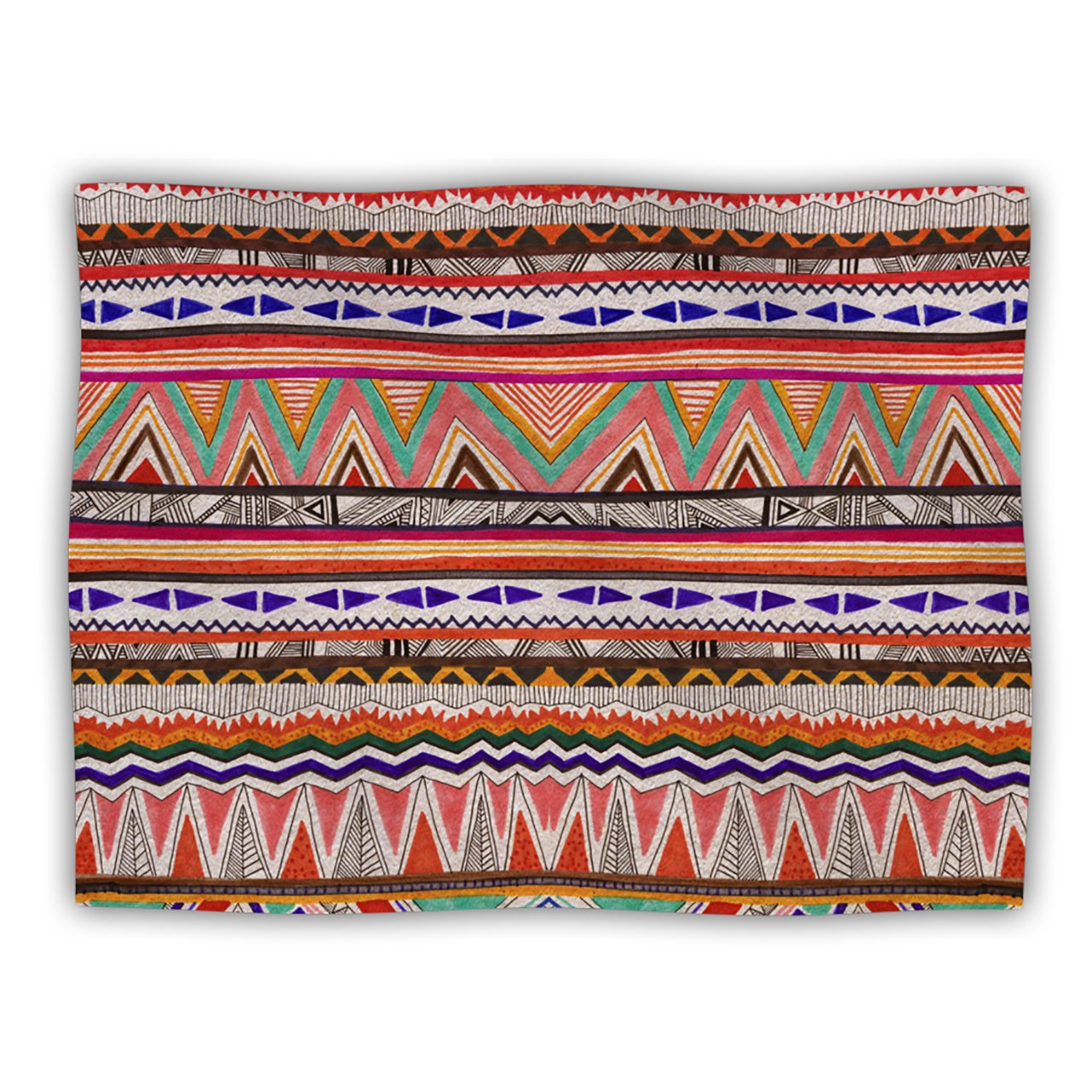 Kess InHouse Vasare Nar Native Tessellation Pet Blanket, 60 by 50-Inch