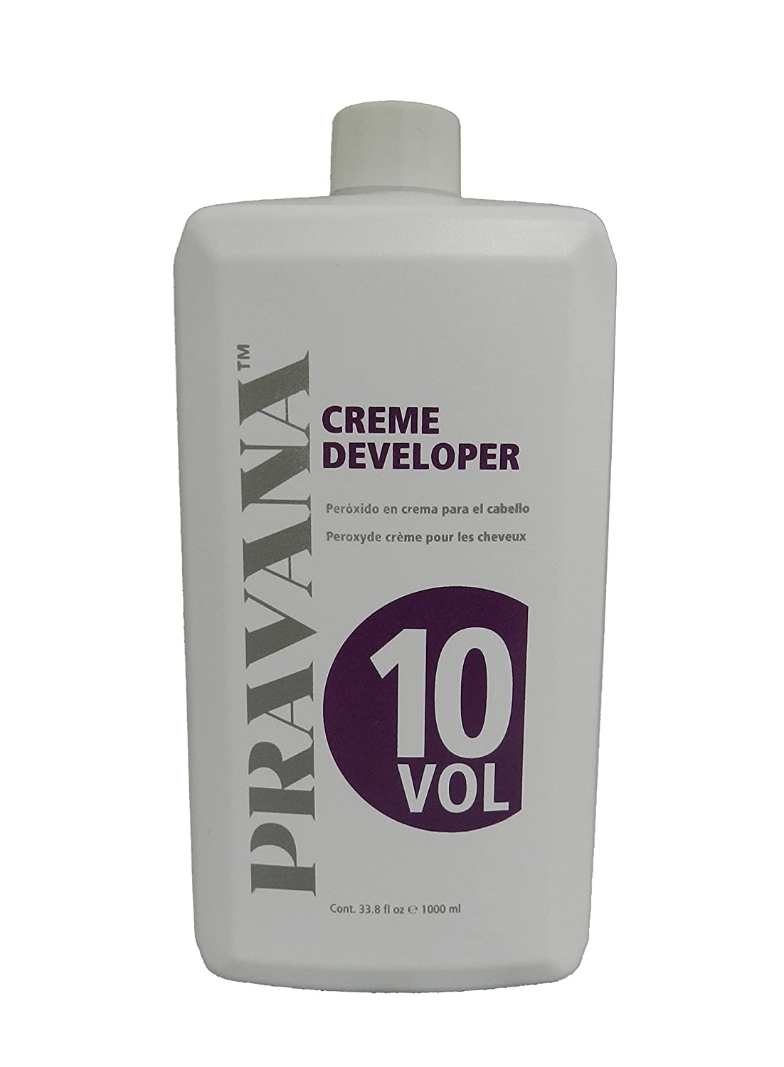 Pravana Creme Developers (10 Volume 33.8 fl oz) by Pravana