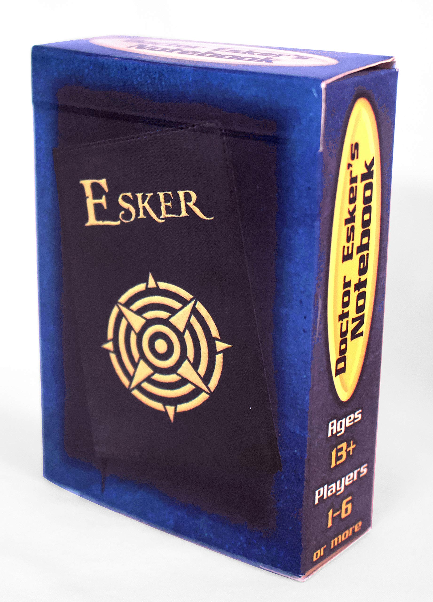 Doctor Esker's Notebook, a Puzzle Card Game in The Style of Escape Rooms