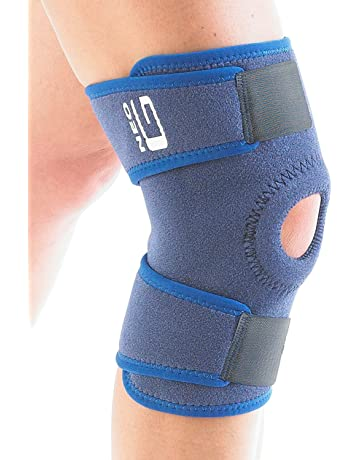 Sports Mem, Cards & Fan Shop Bright Elasticated Knee Blue Knee Pads Knee Support Brace Leg Arthritis Injury Gym Slee