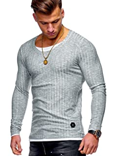 /% Schnäppchen /% GLO-STORY Shirt T-Shirt casual wear schwarz grau blau  L-XL