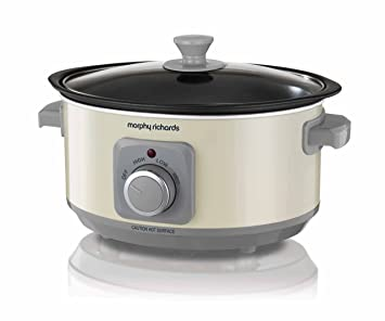 df6169c1b7b Morphy Richards Slow Cooker Sear and Stew 460013 3.5L Cream Slowcooker