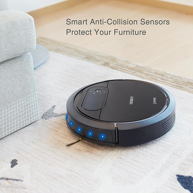 Amazon.com - ECOVACS DEEBOT N78 Robotic Vacuum Cleaner for Pet Hair, Hard Floor - Cleaning Robot -