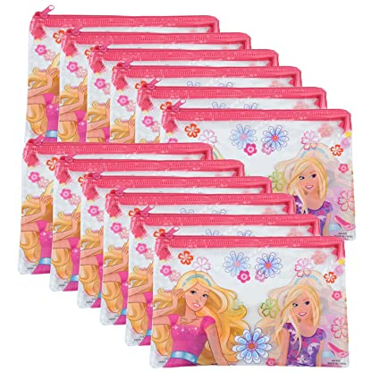Asera 12 Pcs Kids Pencil Pouch For Birthday Return Gifts