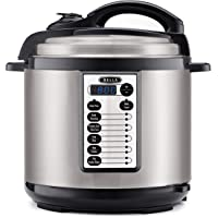Bella 8-Qt. Multifunction Pressure Cooker with One-Touch Digital Presets & Nonstick Cooking Pot