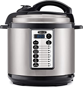 Bella 8-Qt. Multifunction Pressure Cooker with One-Touch Digital Presets