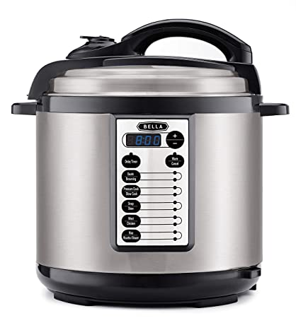 Amazon BELLA 14595 8 Quart Pressure Cooker Multifunction