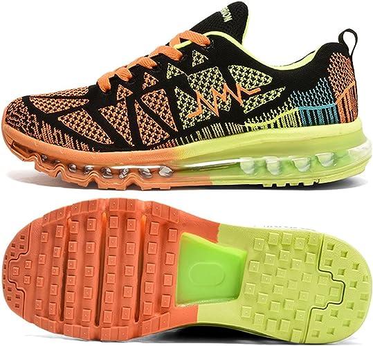 TQGOLD® Homme Femme Air Basket Sport Fitness Chaussures de Course Sneakers