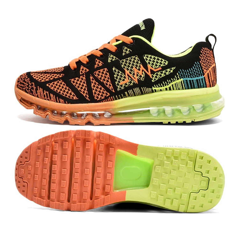 T-Gold Herren Damen Sneaker Laufschuhe Bequeme Atmungsaktiv Air Turnschuhe Fitness Sportschuhe