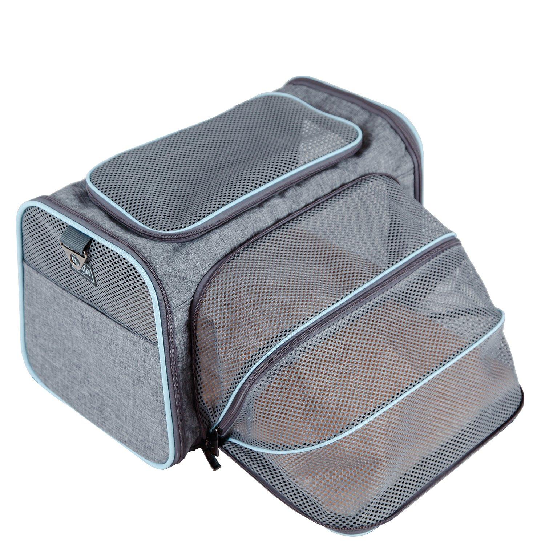 Petsfit Comfort Expandable Foldable Travel Dogs Carriers Pet Carrier ...