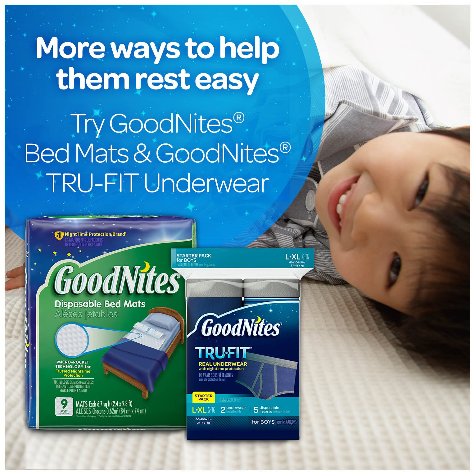 GoodNites Bedtime Bedwetting Underwear for Boys, S-M (38-65 lb), 44 Ct. (Packaging May Vary) by GoodNites (Image #11)