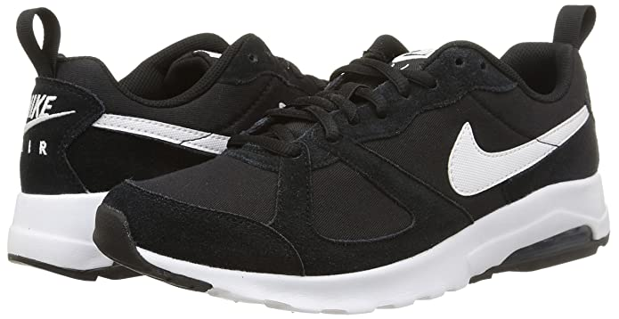 the best attitude 032fd 0c911 Nike Men's AIR MAX Muse Black/White Running Shoes-10 UK 45 Euro (652981-012- BLACK/WHITE-10): Buy Online at Low Prices in India - Amazon.in