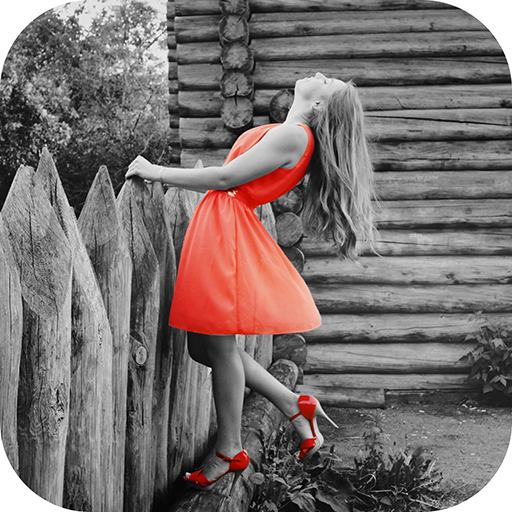 Color Splash Effect - Black and White Photo Editor