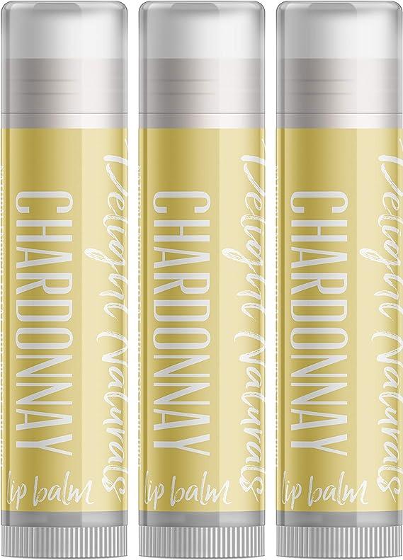Chardonnay Wine Lip Balm - Three Pack