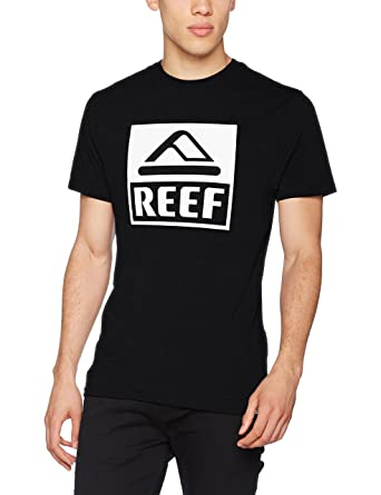 Order Mens Reef Logo Tee Big T-Shirt Reef Cheapest Low Cost ZKSP8