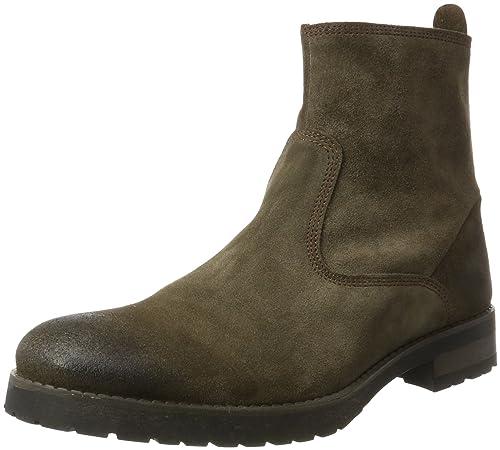 Mentor Mentor Ankle Boot - Botines de Cuero Hombre, Color Marrón, Talla 41 EU: Amazon.es: Zapatos y complementos