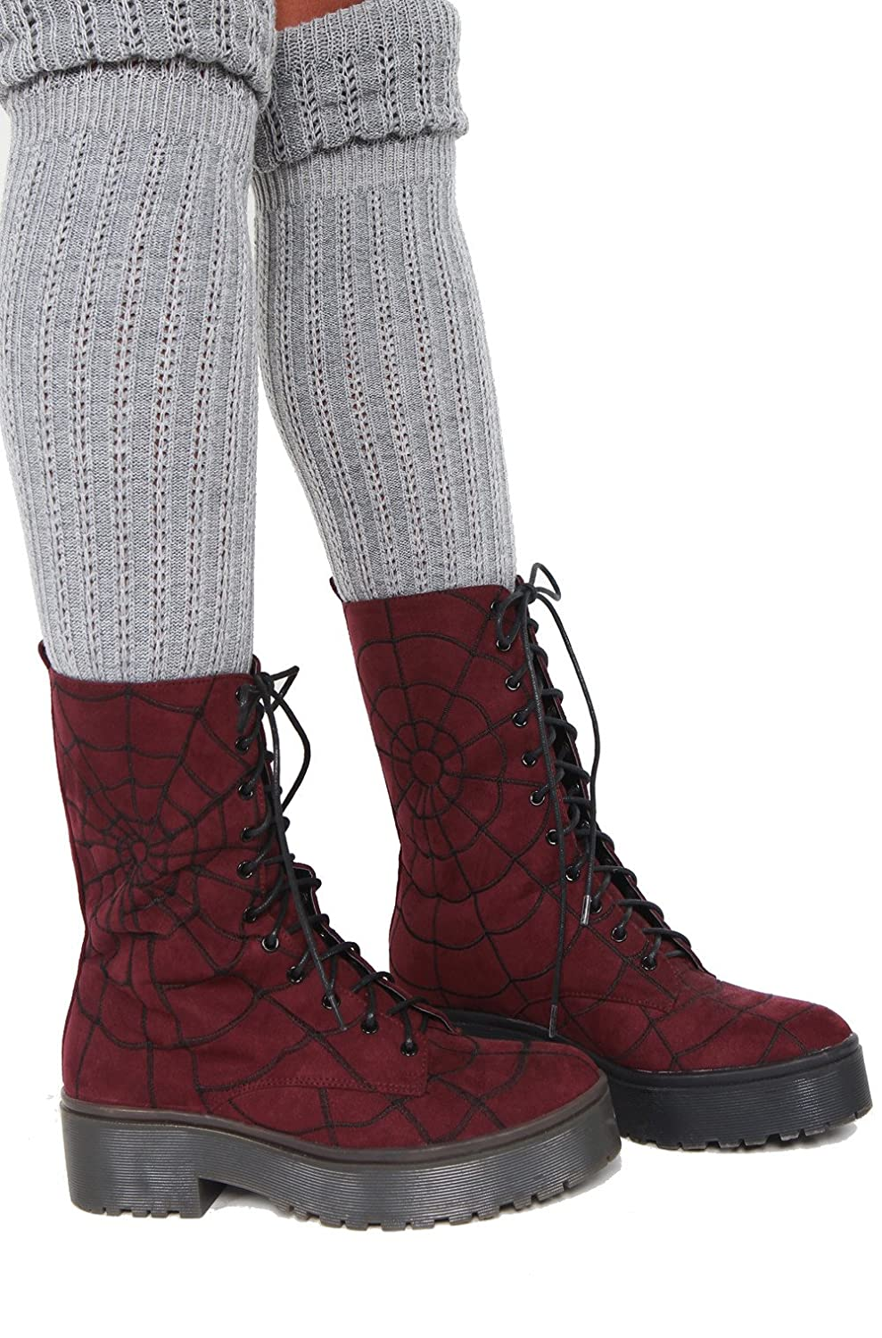 Iron Fist Walking In My Web Heavy Sole Boot