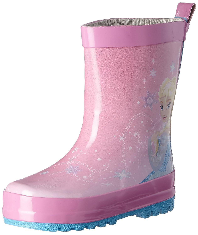 Disney Girls Kids Rainboots Boots, Bottes de Pluie Fille Frozen FZ004209