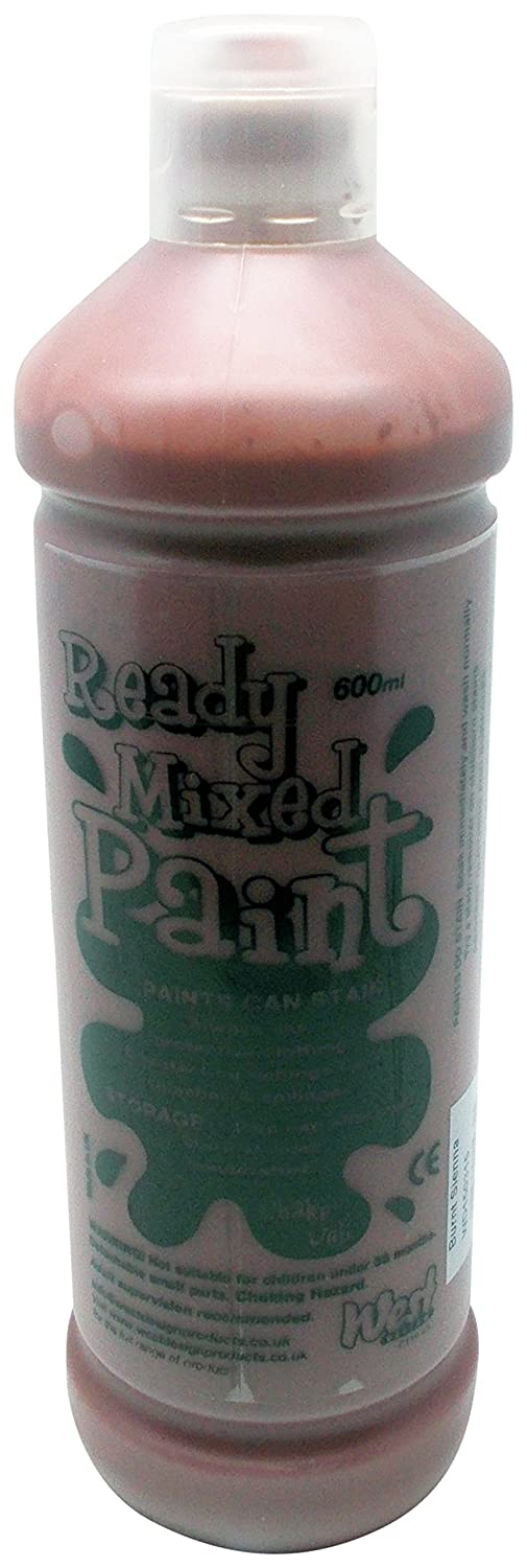 (Burnt Sienna)  West Design Ready Mixed Poster Paint  Burnt Sienna