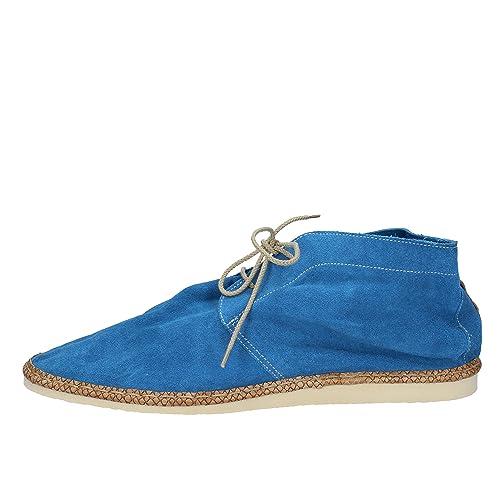 BRIMARTS Botines Hombre Gamuza Azul 45 EU: Amazon.es: Zapatos y complementos
