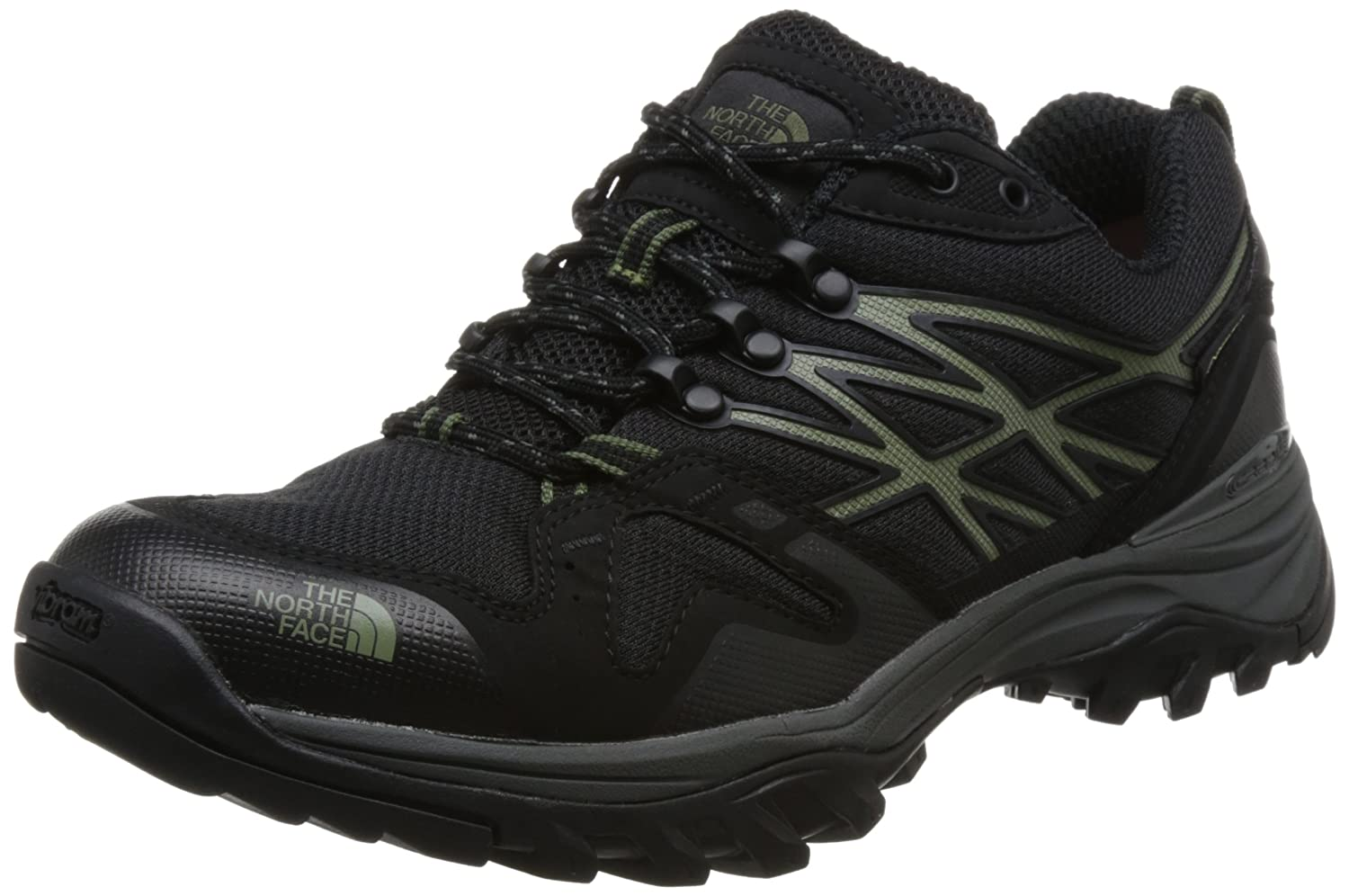 The North Face M Hedgehg Fp GTX(EU), Zapatillas de Senderismo para Hombre 48 EU|Negro (Four Leaf Clover/Tnf Blck 4nx)