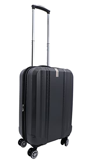 Valise cabine extensible 4 roulettes 100% polycarbonate Airtex Diome (Gris) 1WM4G
