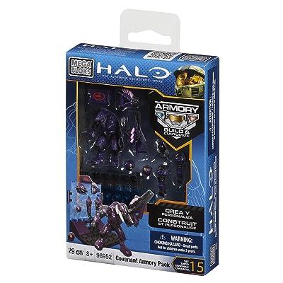 Mega Bloks Halo Covenant Armory Pack: Toys & Games [5Bkhe2001184]