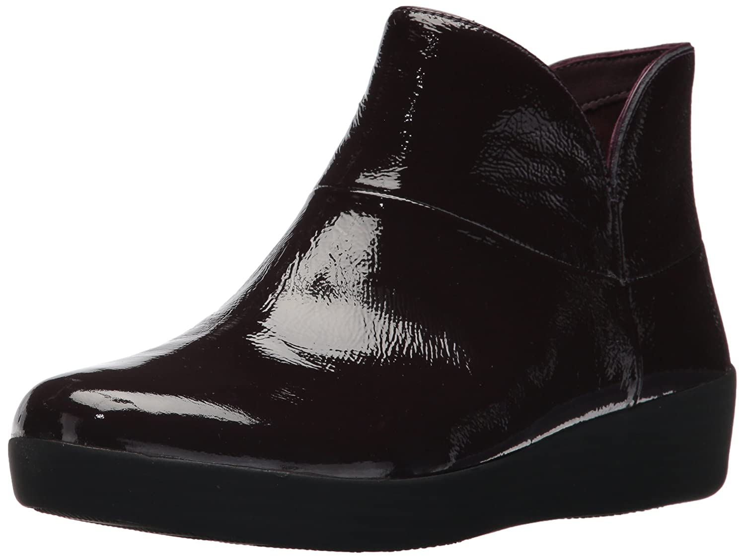 FitFlop Women's Supermod Ii Crinkle-Patent Leather Ankle Boot B075G3CNCF 10 B(M) US|Purple