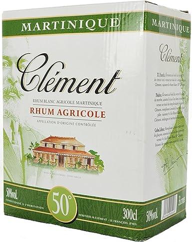 CLEMENT RON BLANCO 50% BOX 3 LITROS: Amazon.es: Alimentación ...