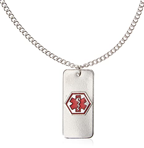 Buy Medical Emergency Necklace Penicillin Allergy By Apex
