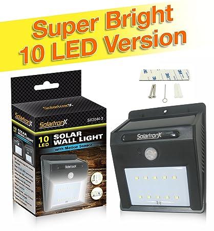 Amazon 10 led motion sensor solar light dusk to dawn security 10 led motion sensor solar light dusk to dawn security lighting for outdoors ideal aloadofball Choice Image