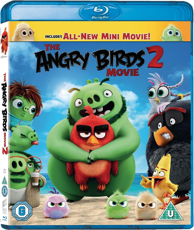 The Angry Birds Movie 2 Blu Ray 2019 Region Free Amazon Co Uk