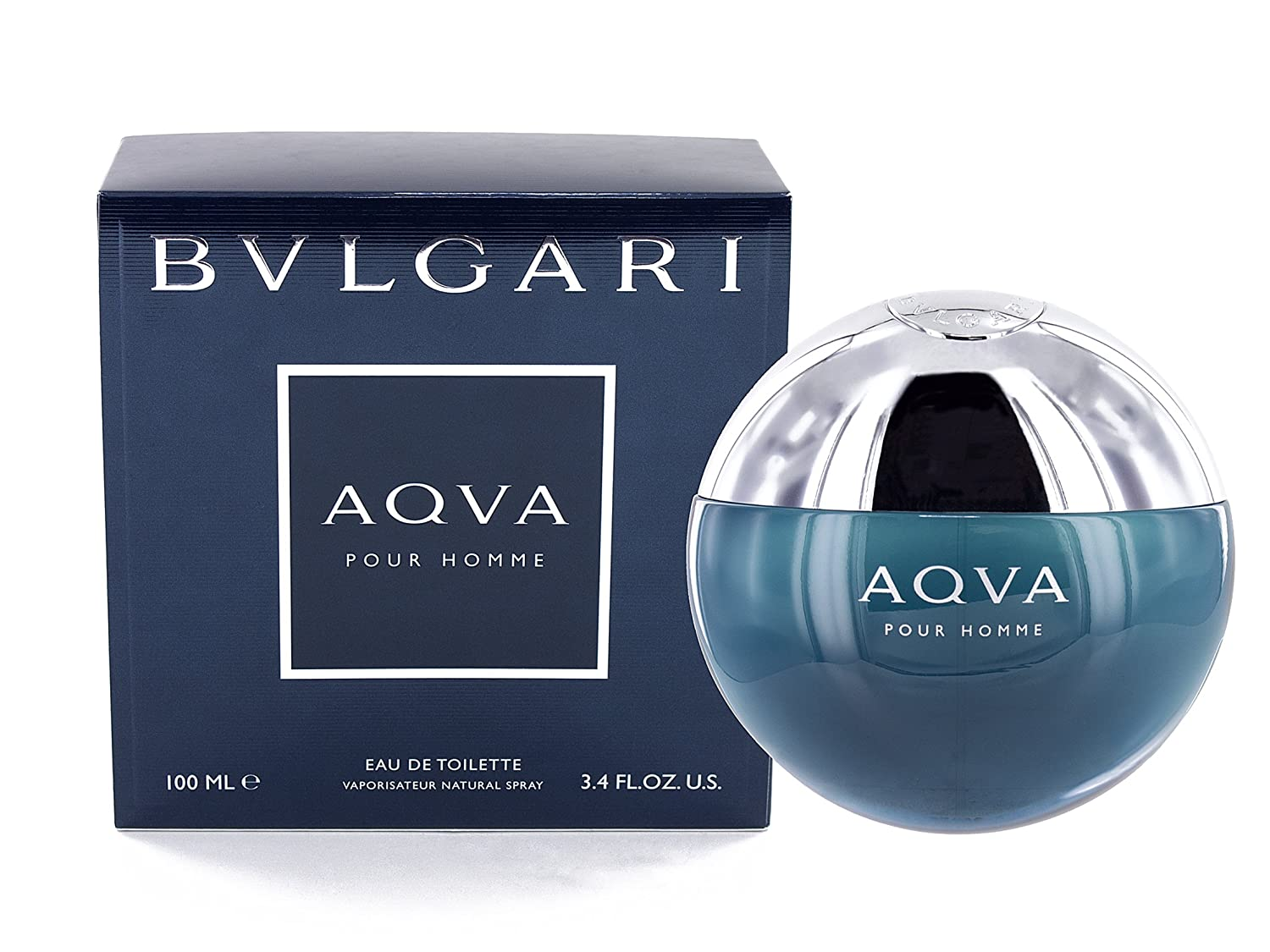Bvlgari Aqva Eau De Toilette Spray for Men, 5 Ounce 0783320911569 40494