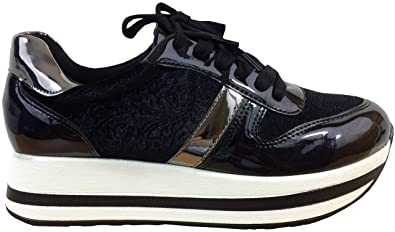 huge discount 1423b b49e4 Damen Sneaker Plateau, leicht und bequem, Plateau-Sohle ...