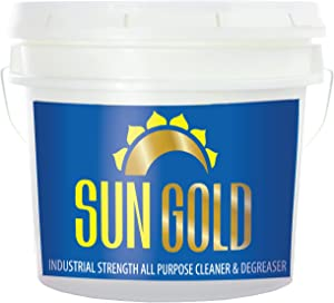 Sun Gold Manufacturing All Purpose Cleaner, Multi Surface Cleaning Concentrate for Kitchens and Bathrooms, 3.5 Gallon Bucket, Biodegradable, Industrial Strength