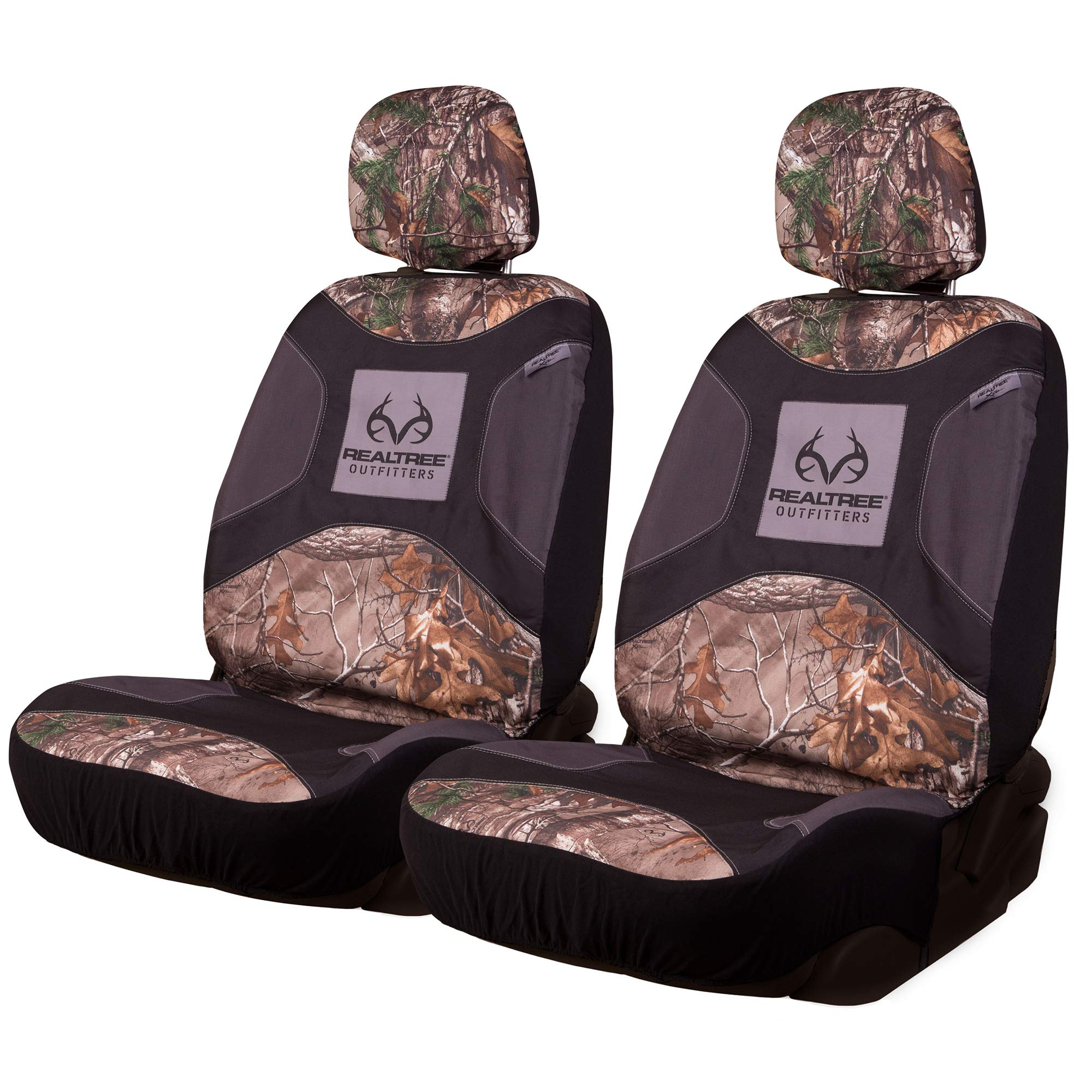 Realtree Camo Seat Covers | Low Back | Xtra | 2 Pack by Realtree