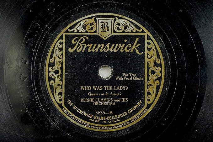 Amazon.com: Bernie Cummins - Brunswick 78 RPM - Who Was That ...