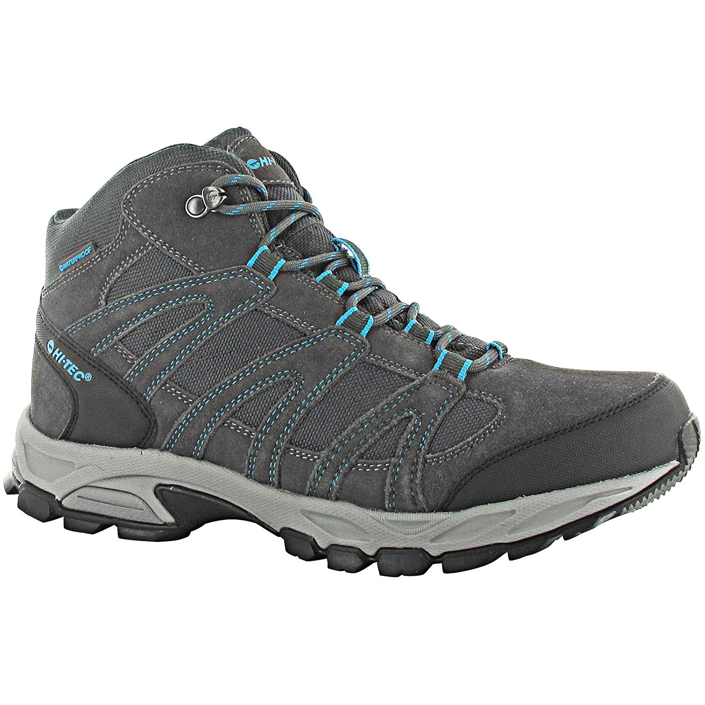 2ed6c772402 HI-TEC ALTO MID WP Mens Waterproof Hiking Boots (12 UK)  (Charcoal Prussian)  Amazon.co.uk  Shoes   Bags