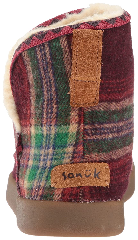 Sanuk Women's B01N1WXVM0 Nice Bootah Ankle Bootie B01N1WXVM0 Women's 7 M US|Vintage Rainbow a75f51