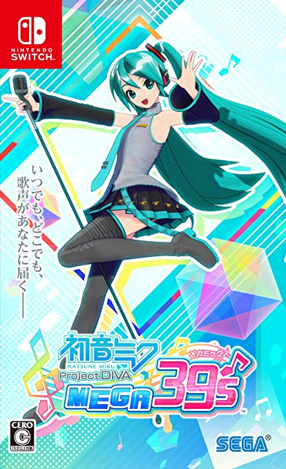 Amazon Com Hatsune Miku Project Diva Mega39 S Mega Mix Switch