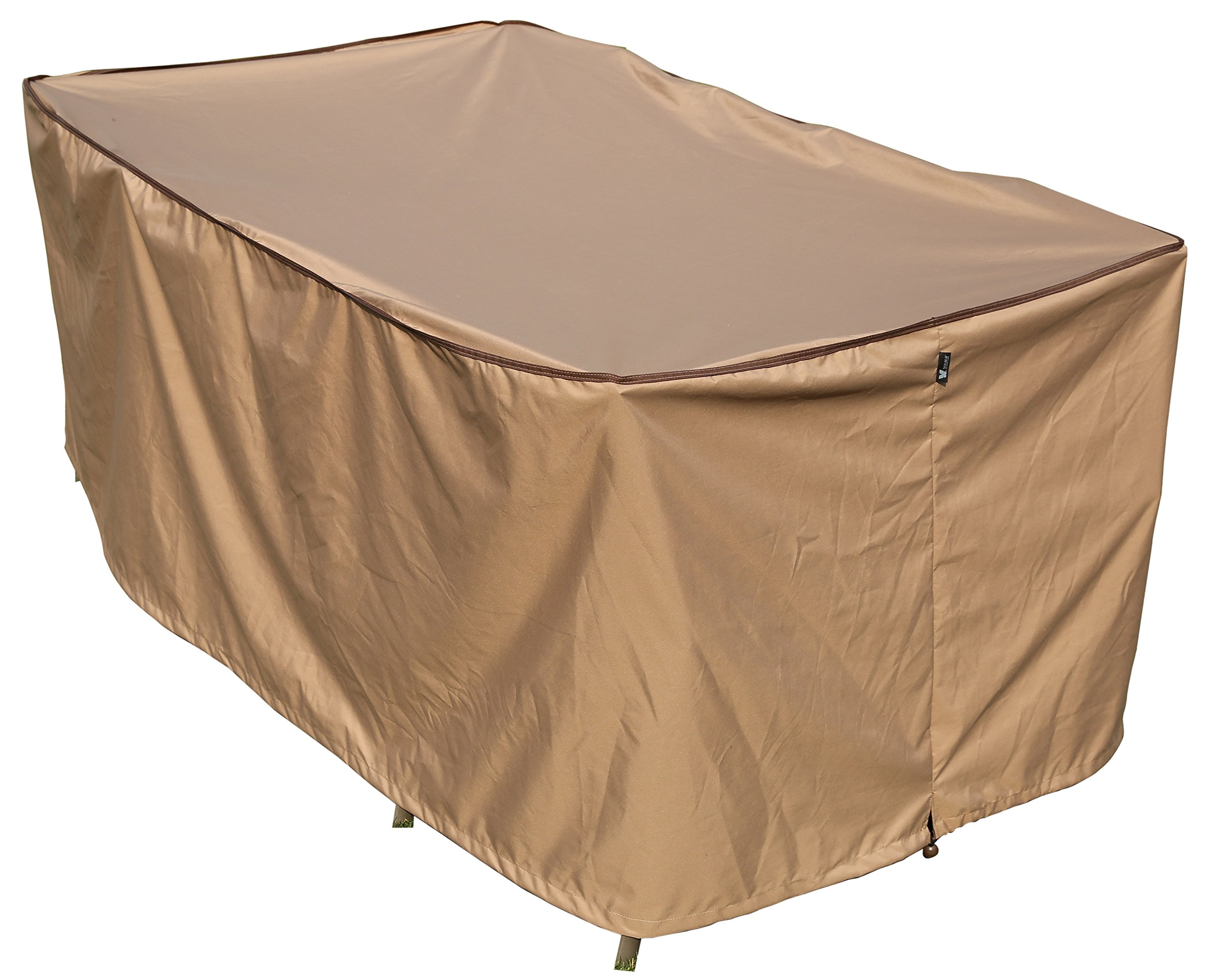 SORARA Rectangular Table and Chair Set Cover Outdoor Porch Furniture Cover, Water Proof, All Weather Protection, 92'' L x 60'' W x 36'' H