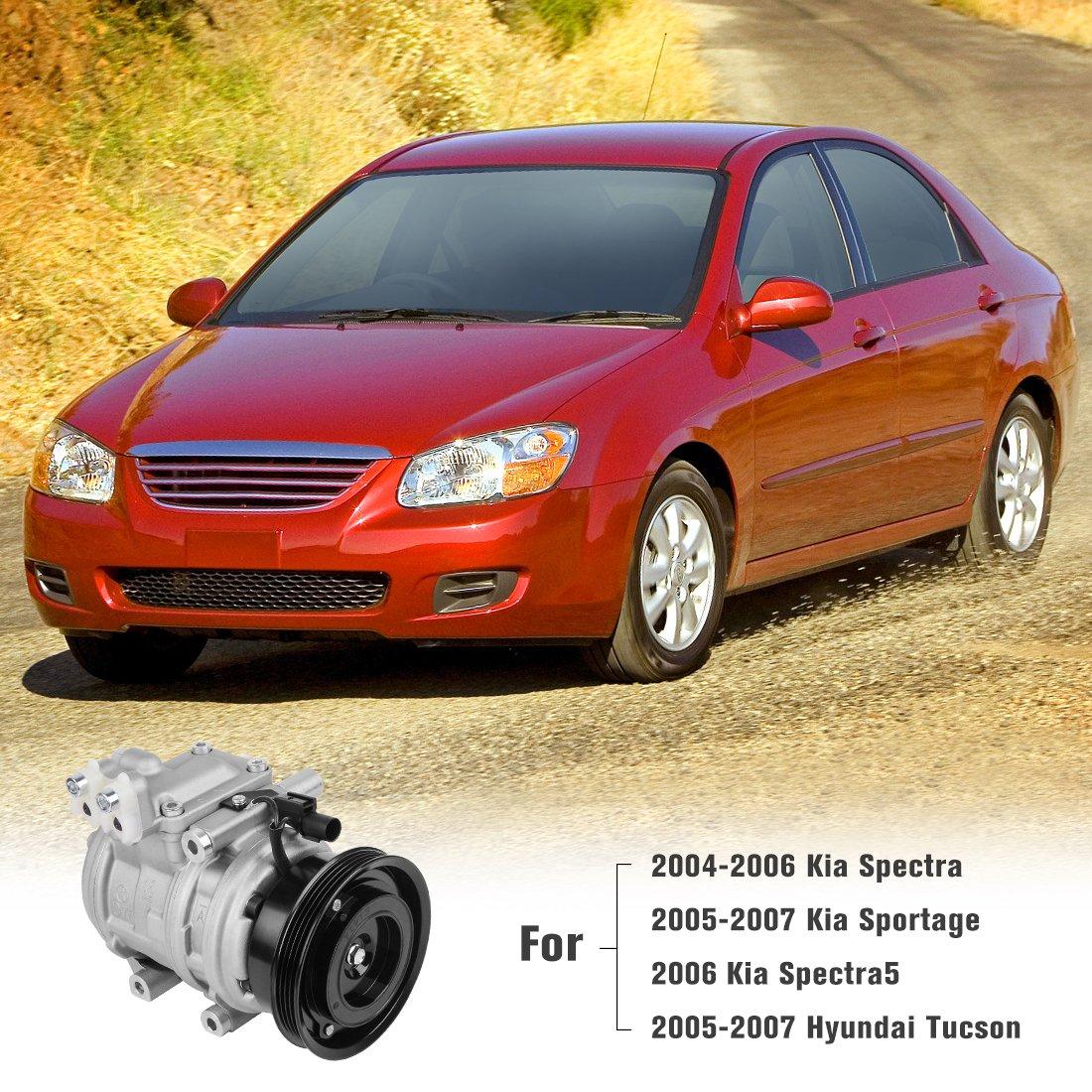 Front Wheel Hub /& Bearing Assembly Fits 05-09 Kia Spectra Spectra5