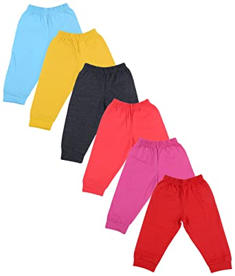 85594959d93f Firstvibe Baby Kids Soft Cotton Track Pants with RIbs